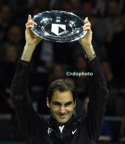 Roger Federer- Rotterdam - foto di Roberto dell'Olivo
