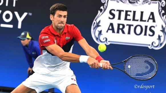 Novak Djokovic ATP CUP 2020 Brisbane