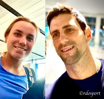 Nole Djokovic e Sofia Kenin nello stesso volo da Melbourne a Dubai