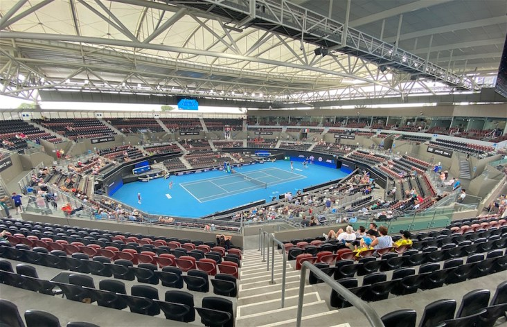 Brisbane Pat Rafter Arena ATP CUP 2020- foto di Roberto Dell'Olivo
