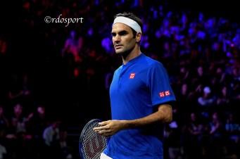 Roger Federer - Laver Cup Ginevra 2019 - foto di Roberto Dell'Olivo