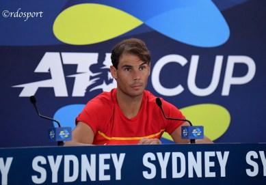 Rafael Nadal, Team Spain - ATP CUP 2020 Sydney- foto di Roberto Dell'Olivo