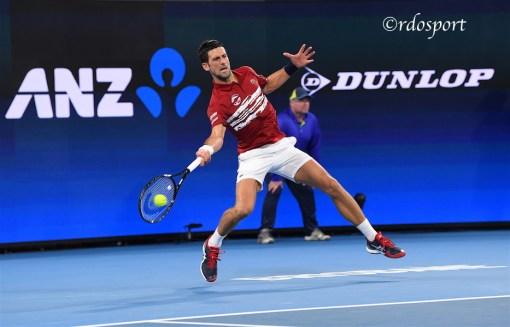Nole Djokovic - Atp Cup 2020 Brisbane - foto di Roberto Dell'Olivo