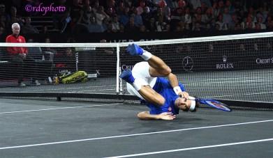 Roger Federer - Laver Cup 2019 Ginevra - foto di Roberto Dell'Olivo