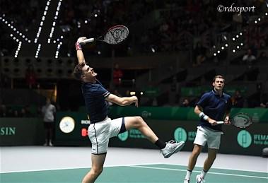Jamie Murray e Neal Skupski - TEAM GB - Davis Cup Madrid 2019 - foto di Roberto Dell'Olivo