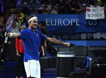 Roger Federer Laver Cup 2019 Ginevra