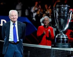 Rod Laver - Ginevra Laver cup 2019 - foto di Roberto Dell'Olivo