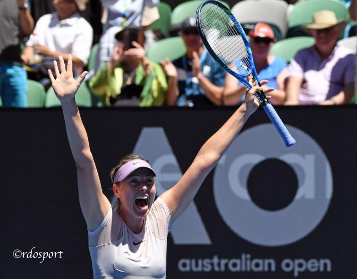 Maria Sharapova - Australian Open - foto di Roberto Dell'Olivo