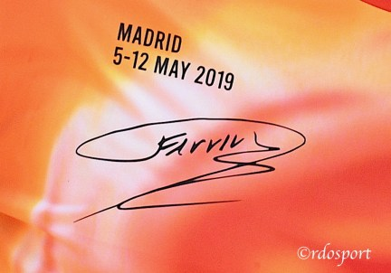 Madrid 5-2 2019 FERRU particolare della maglia commemorativa - foto di Roberto Dell'Olivo