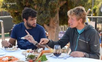A tavola con i fratelli Berrettini (©rdosport)
