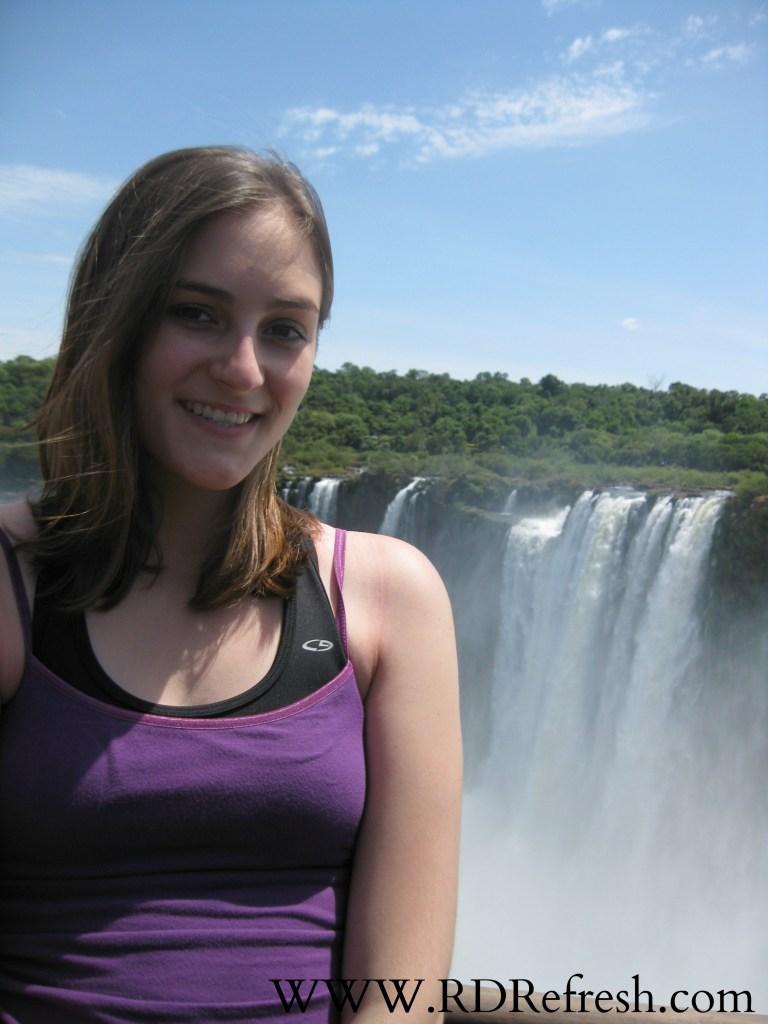 Iguazu Falls in January