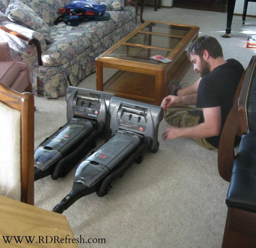 Free vacuum servicing.