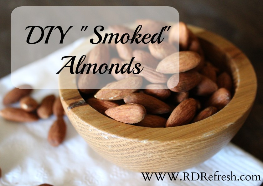 "DIY ""Smoked"" Almonds"