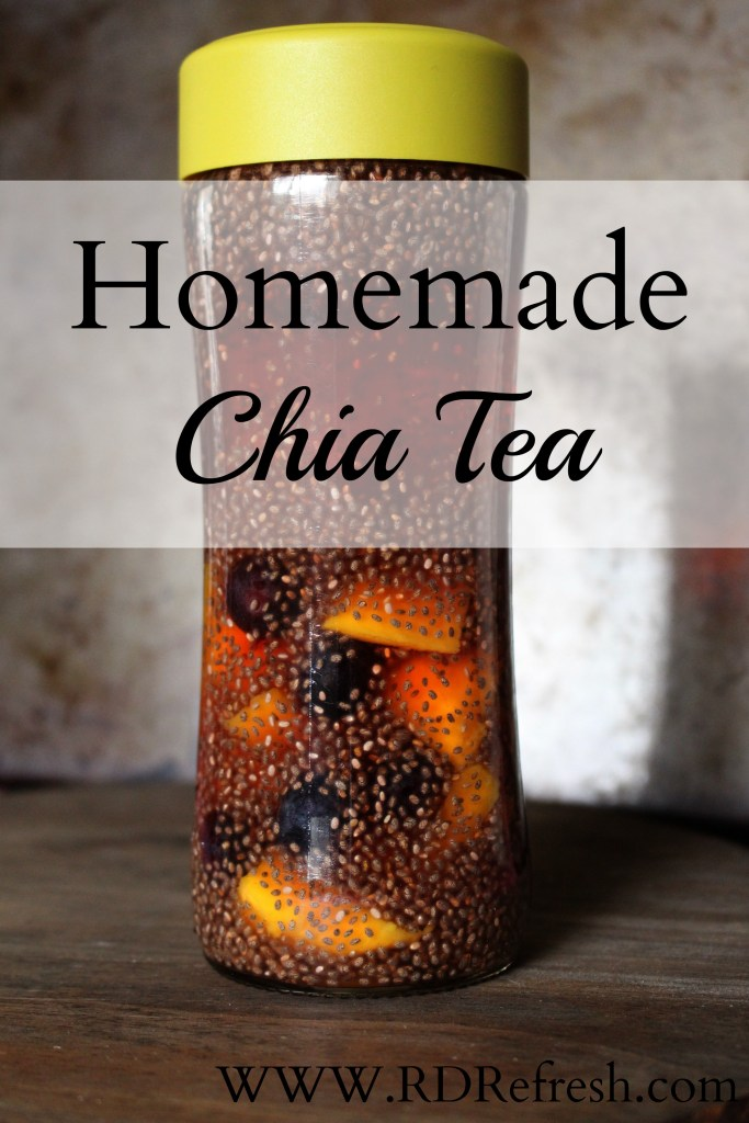 Homemade Chia Tea