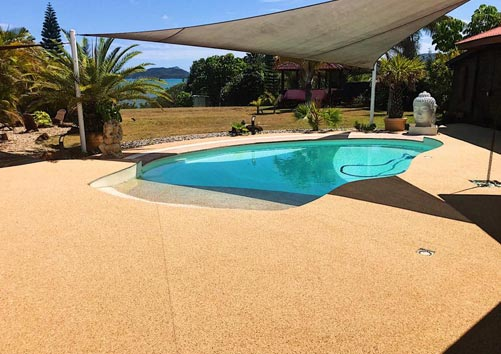 sol drainant piscine