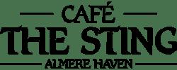 logo cafe the sting