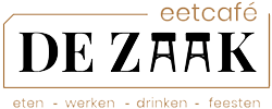 logo eetcafe de zaak