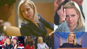 Collage of Secretary Kirstjen Nielsen at Work in Washington, DC.