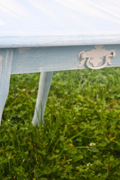 Light and Airy Side Table Makeover