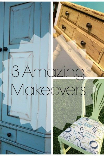 3 Amazing Makeovers