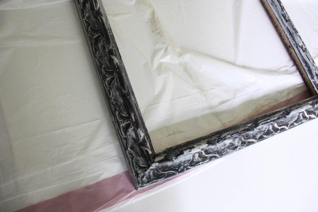 Easy Vaseline Distressed Frame