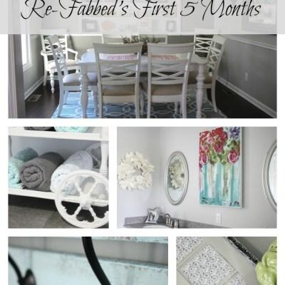 First 5 Months~Top 5 Posts