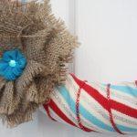DIY Ribbon Wreath
