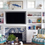 Decorating a Mantel with a TV