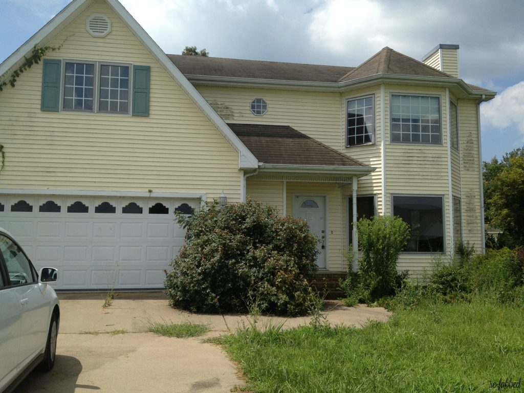 Foreclosure Home Before