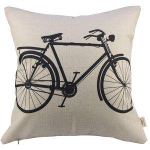 Bike Pillow Cover