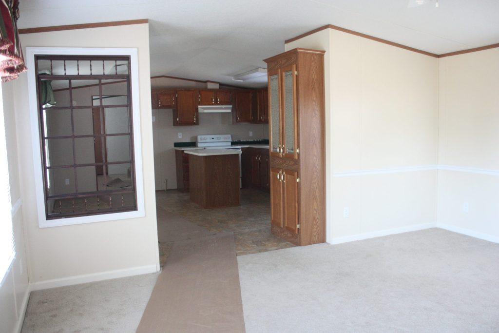 Trailer Kitchen Before