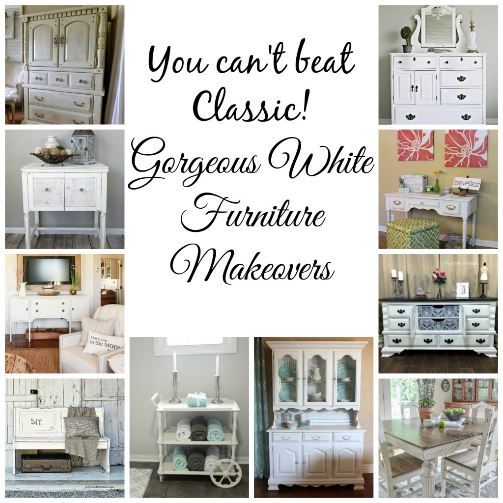 White Furniture Makeovers
