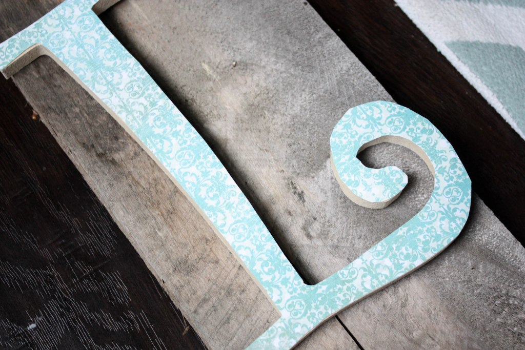 Fall Letters and Scrapbook Paper