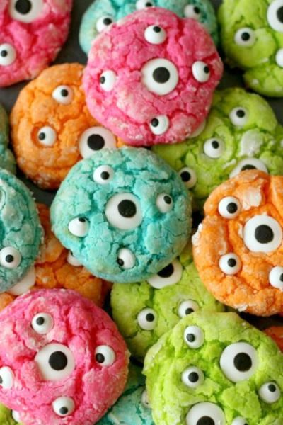 Googly Eyed Cookies