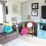 Mobile Home Living Room Reveal