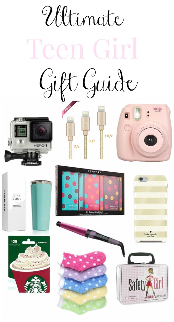 This is the absolute ULTIMATE teen girl gift guide! Lots of great ideas for those hard to buy for teen girls!