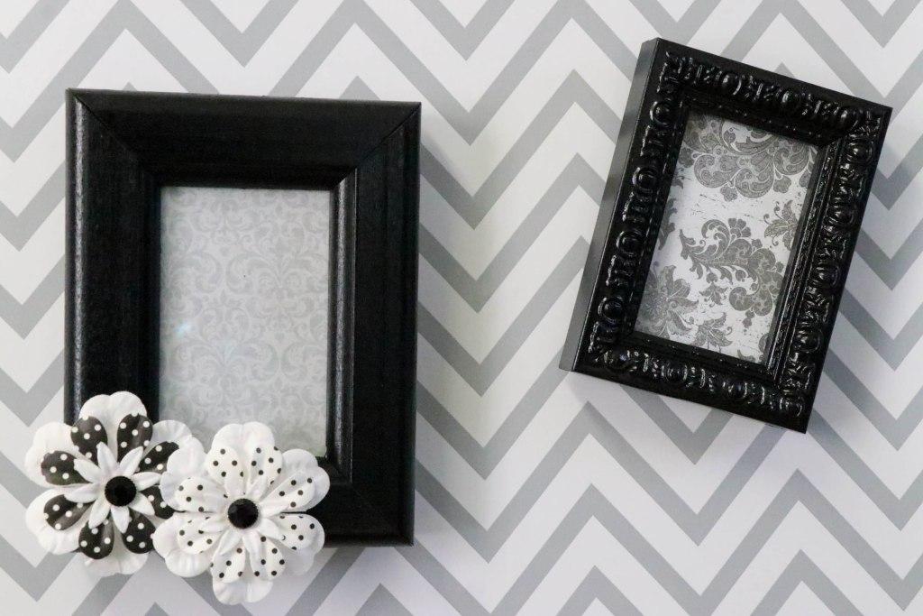 Kitchen DIYs: DIY Magnetic Thrift Store Frames