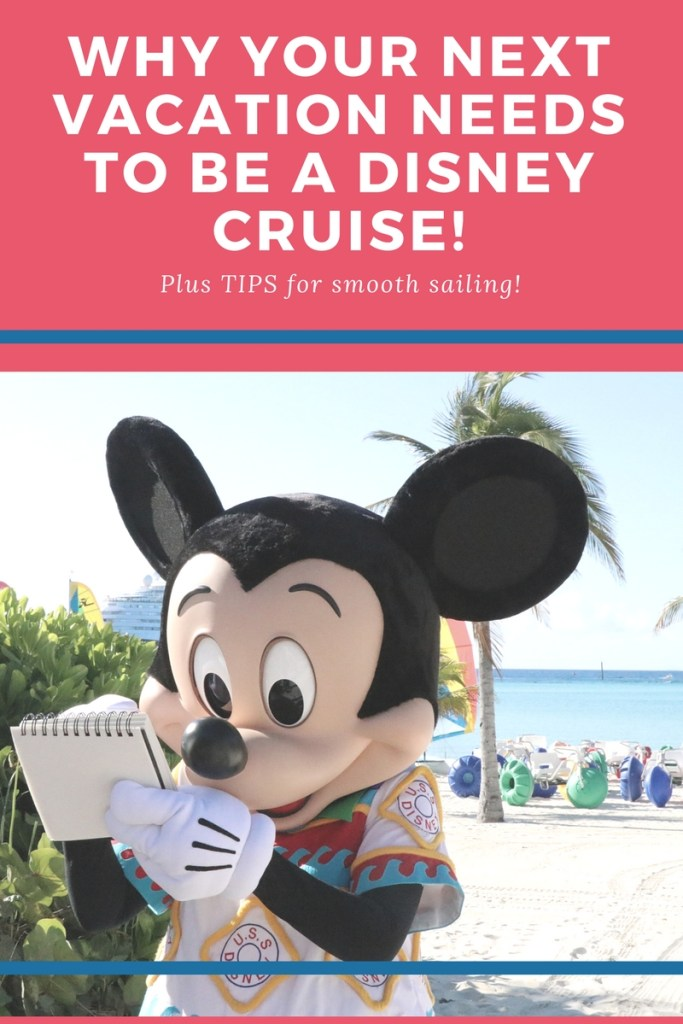 Top Reasons to take a Disney Cruise Vacation! This post highlights all of the fantastic reasons your family needs to be on a Disney Cruise, along with some great tips for smooth sailing!
