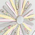 DIY Popcicle Stick Wall Flower