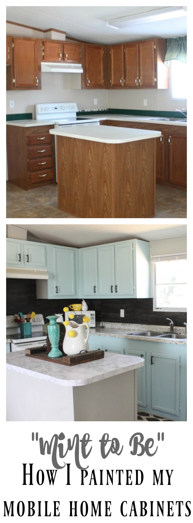 Mobile Home Cabinet Makeover - Re-Fabbed