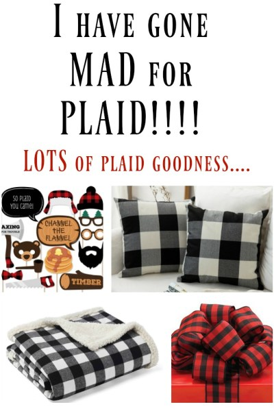 If you love all things plaid, then this is the place for you! Plaid goodness GALORE!