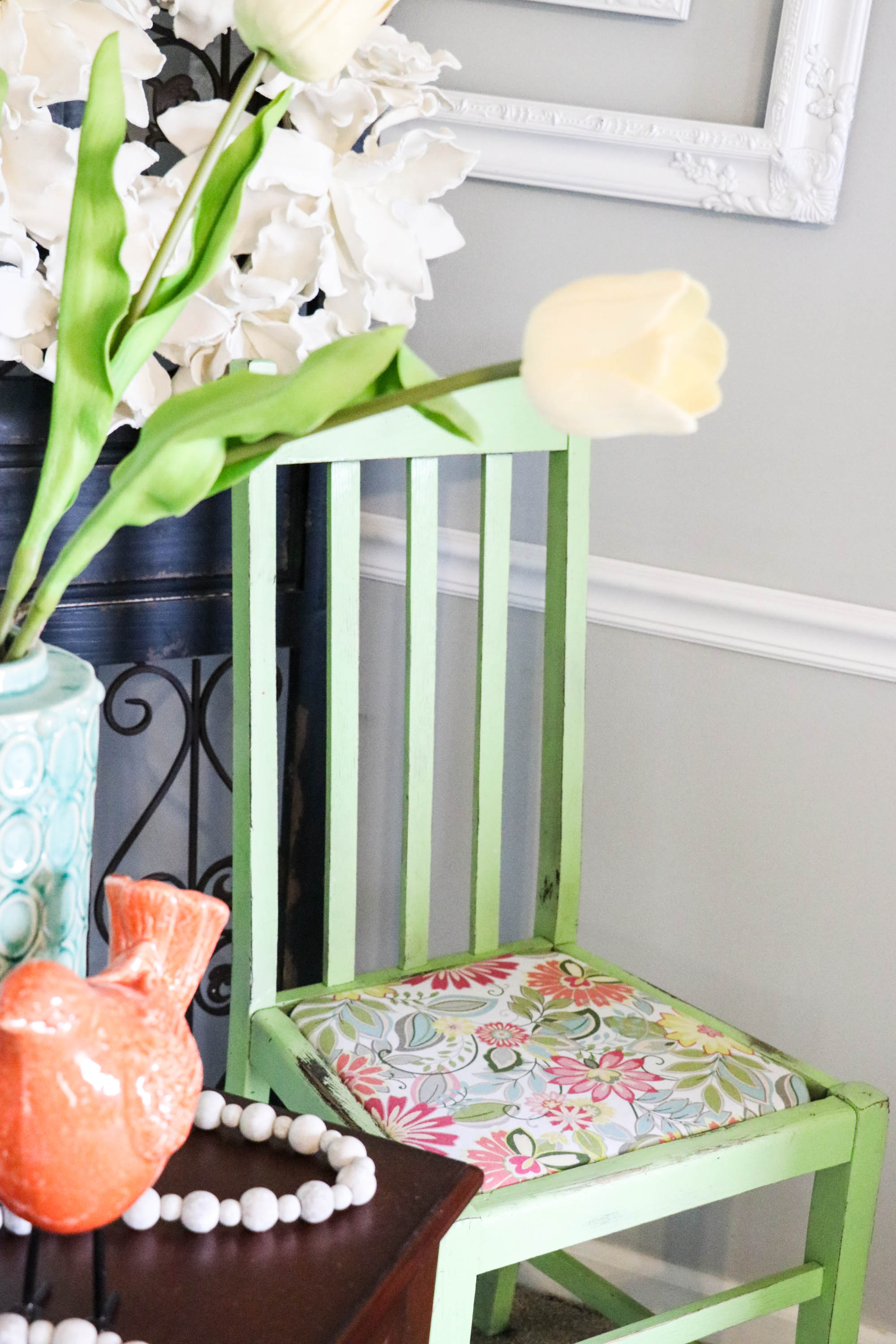 Easy Diy Upholstery On The Kitchen Chairs Re Fabbed