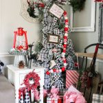 Buffalo Plaid Christmas Tree Re Fabbed