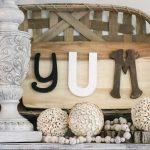 DIY Yum Kitchen Sign