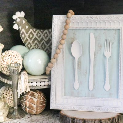 DIY Kitchen Utensil Decor