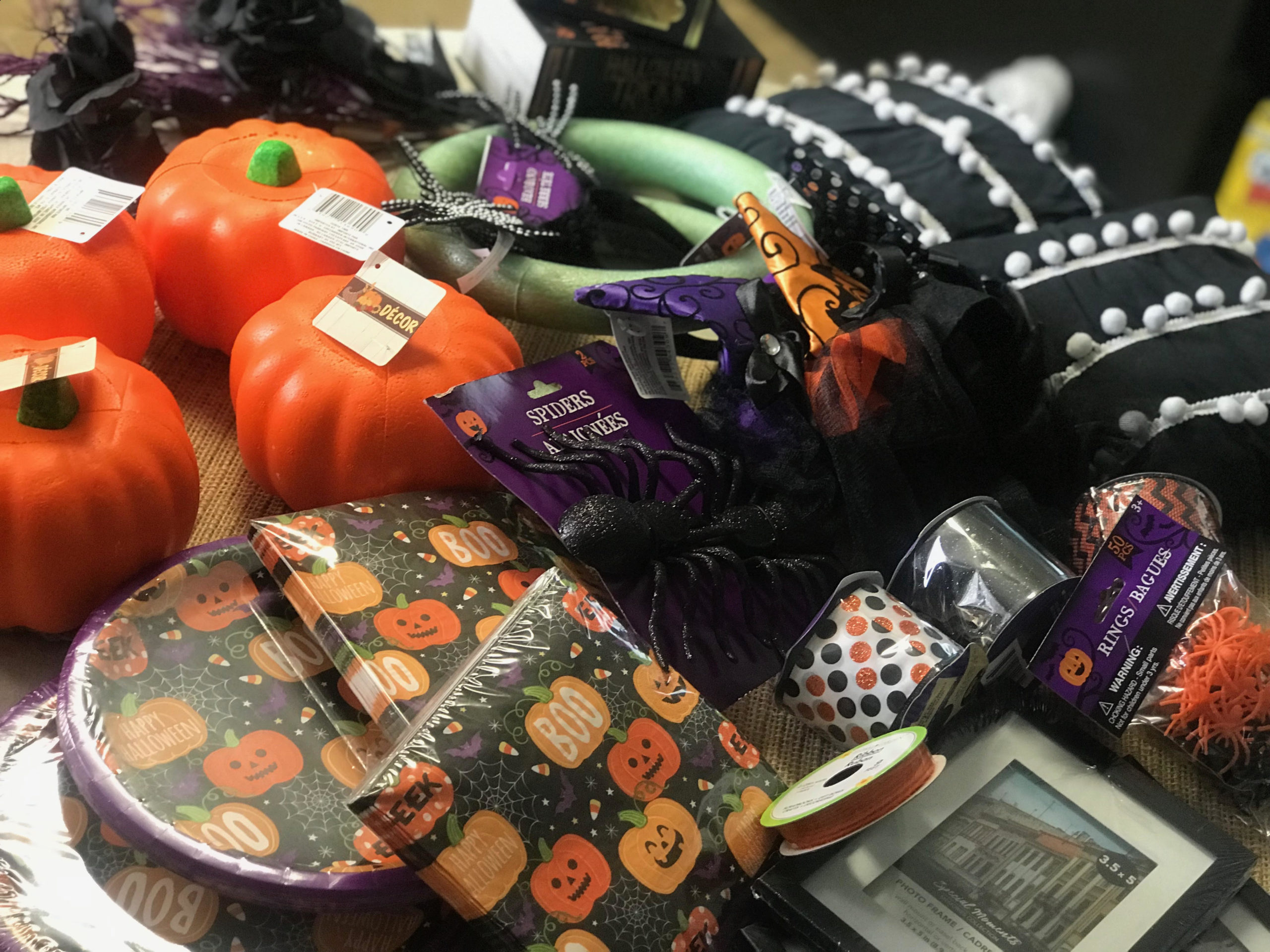 Dollar Tree Halloween Finds Re Fabbed