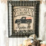 diy Fall Burlap Sack Decor