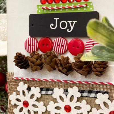 Scrap Christmas Tree diy