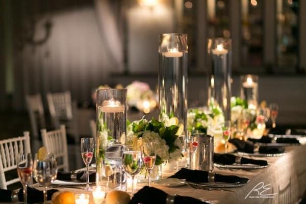 Vie Wedding Details Table Setup