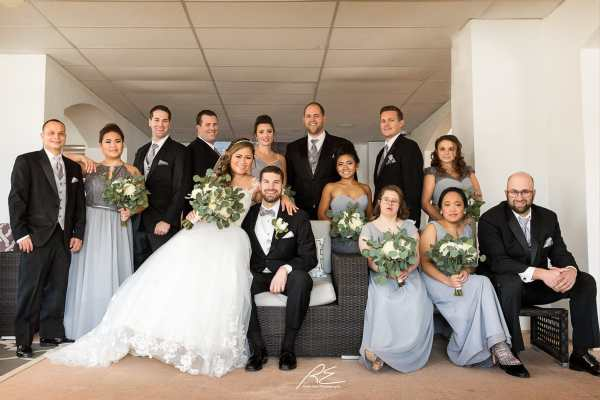 Bridal Party at Lambertville Station Inn Wedding